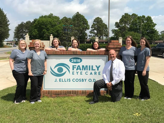 Quality eyecare and personal attention are our focus at J. ELLIS COSBY, O.D.  ALBANY, GA 31707